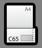 Формат C65 (114x229мм)