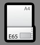 Формат E65  (110х220мм)
