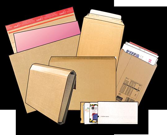 Картонные конверты